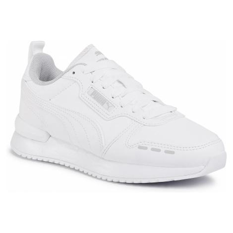 Sneakersy PUMA - R78 Sl Jr 374428 02 White/White/Gray/Violet