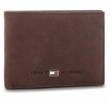 Duży Portfel Męski TOMMY HILFIGER - Johnson Mini CC Flap AM0AM00662 041