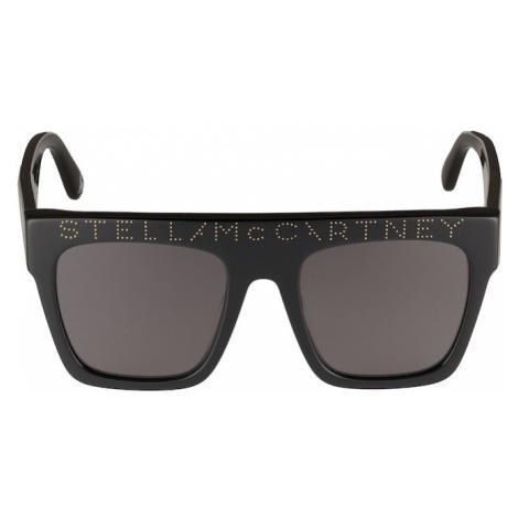 Stella McCartney Okulary przeciwsłoneczne 'SK0048S' szary / czarny