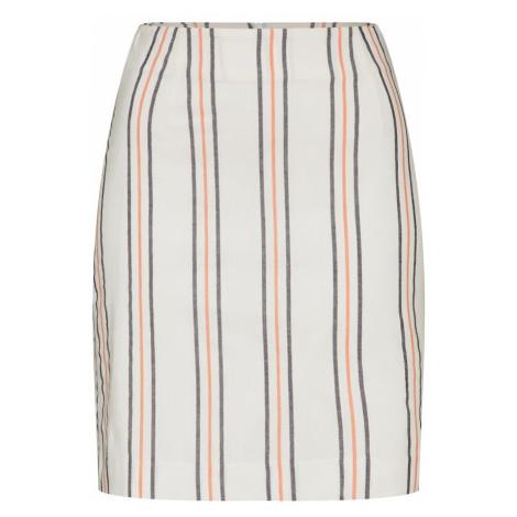 EDITED Spódnica 'Colleen' kremowy / czerwony / czarny / biały