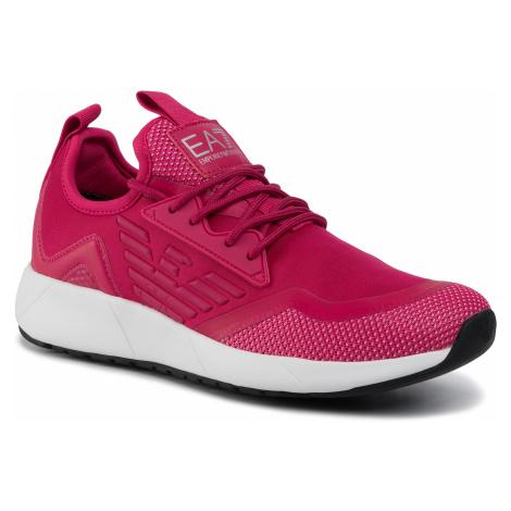 Sneakersy EA7 EMPORIO ARMANI - X8X030 XK053 00056 Bright Rose
