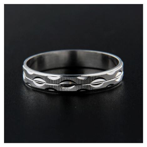 Pierścionek srebrny 13833
