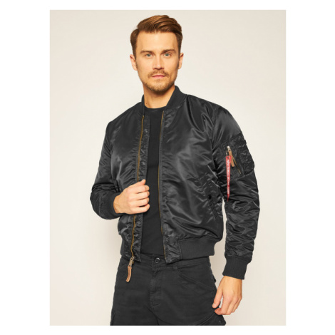 Alpha Industries Kurtka bomber Ma-1 Vf 59 191118 Czarny Slim Fit