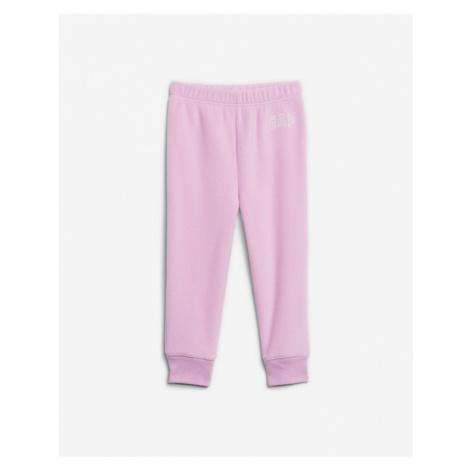 GAP Spodnie dresowe dziecięce Fioletowy