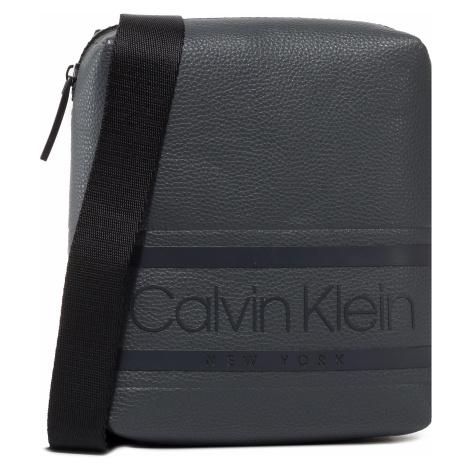 Saszetka CALVIN KLEIN - Striped Logo Pu Mini Reporter K50K505648 PBL