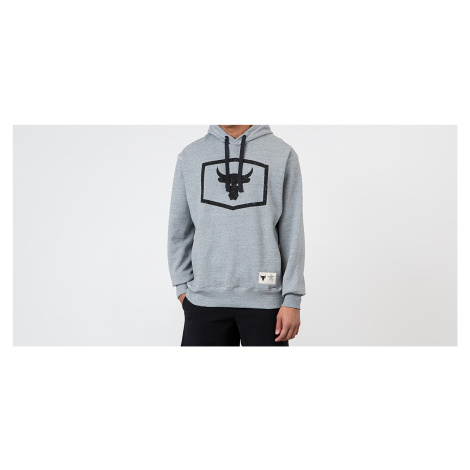 Under Armour Project Rock Warm Up Hoodie Grey