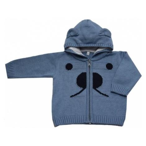 EKO chłopięcy sweter z noskiem, 92, niebieski