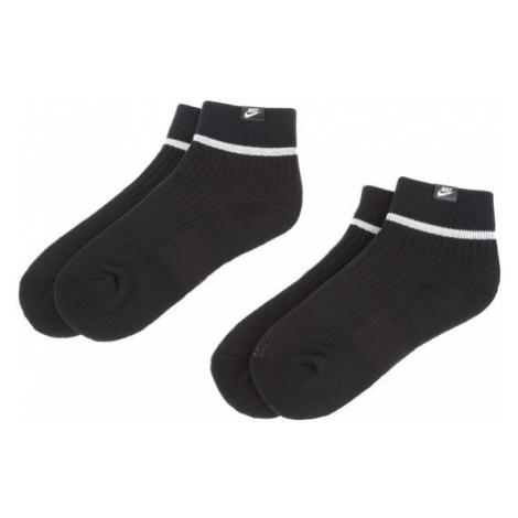 Nike Zestaw 2 par wysokich skarpet unisex SX7167 010 Czarny
