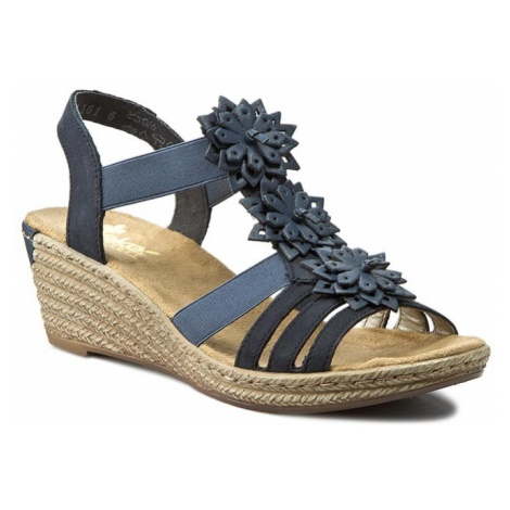 Sandały RIEKER - 62461-14 Blue