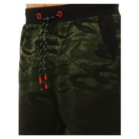 Green men's sweatpants SX0843 DStreet