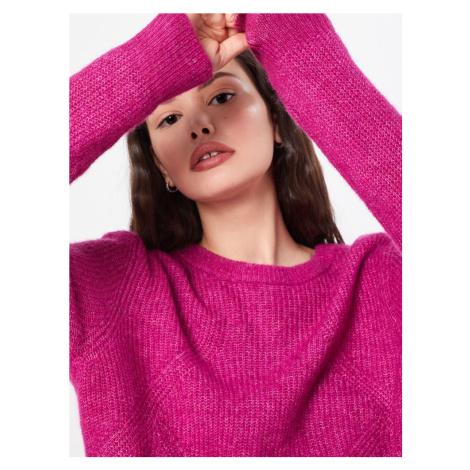 OBJECT Sweter różowy