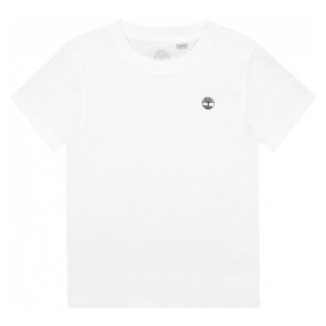 Timberland T-Shirt T25Z07 Biały Regular Fit