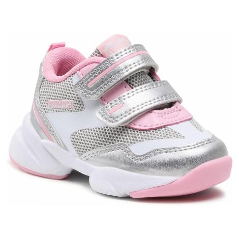 Sneakersy PRIMIGI - 7446900 Argent