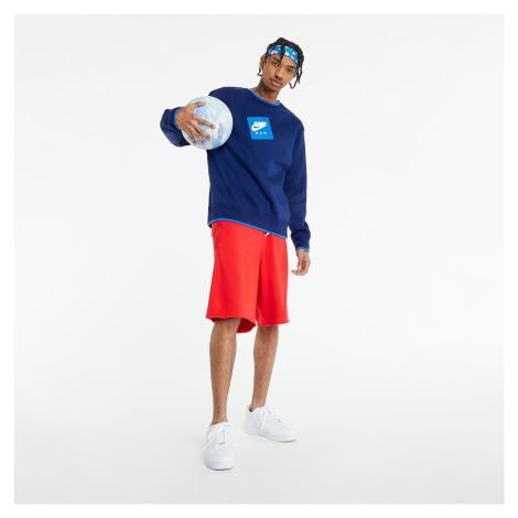 Jordan Jumpman Classics Men's Fleece Crew Sweatshirt Blue Void/ Signal Blue