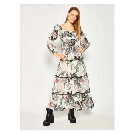 Pinko Sukienka letnia Mirmo 20201 PBK2 1B14DT 8039 Szary Regular Fit