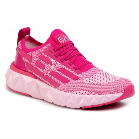 Sneakersy EA7 EMPORIO ARMANI - X8X048 XK113 M531 Cabert/Fairy Tale