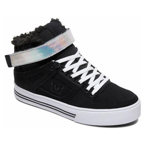 buty DC Pure High -Top V WNT - BS2/Black/Silver