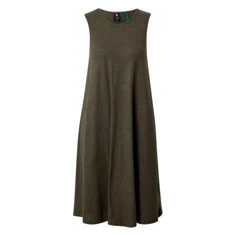 G-Star RAW Sukienka 'Tank dress a-line r wmn sls' zielony