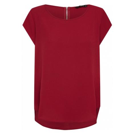 ONLY Koszulka czerwone wino