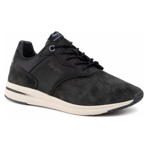 Sneakersy PEPE JEANS - Jayker Lth Mix PMS30578 Dark Grey 975
