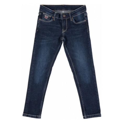 Pepe Jeans Jeansy Paulette PG201033CK8 Granatowy Skinny Fit