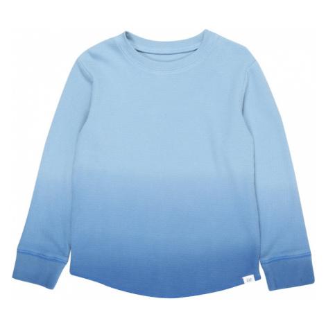 GAP Koszulka 'Texture' niebieski
