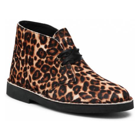 Clarks Botki Desert Boot 2 261556704 Brązowy