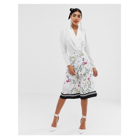 Unique21 floral culotte trouser
