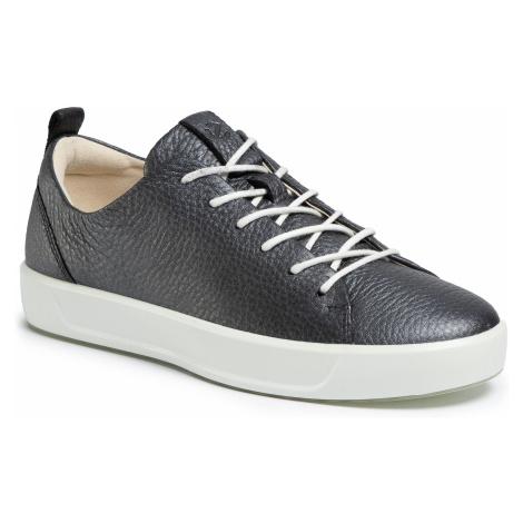 Półbuty ECCO - Soft 8 Ladies 44050351162 Black/Dark Silver