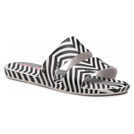 Klapki MELISSA - Color Pop + Barbie Ad 33338 White/Black 51637