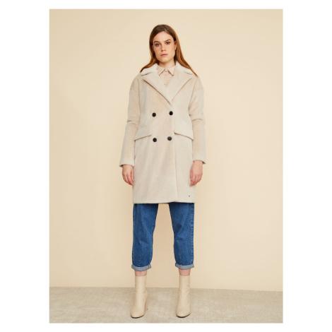 ZOOT beżowy płaszcz zimowy Stephany
