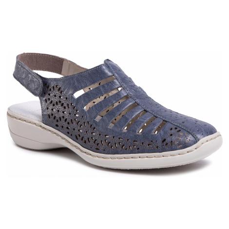 Sandały RIEKER - 41355-12 Blue