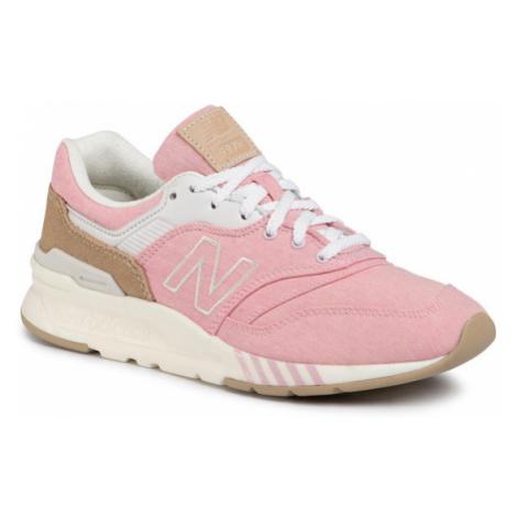 New Balance Sneakersy CW997HBF Różowy
