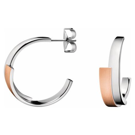 Calvin Klein Kolczyki Złoty Srebrny