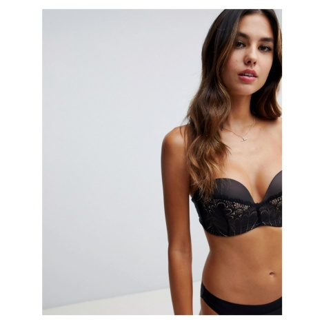 Wonderbra refined glamour ultimate strapless lace bra a
