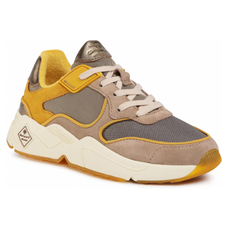 Sneakersy GANT - Nicewill 21533868 Yellow/Beige