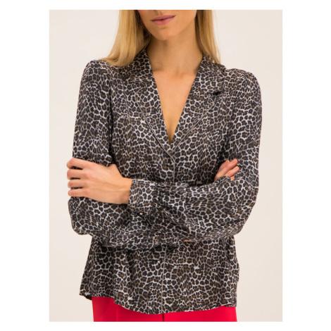 Guess Koszula W94H83 WCA10 Brązowy Regular Fit