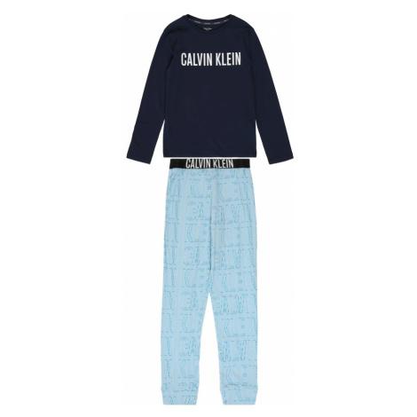 Calvin Klein Underwear Piżama jasnoniebieski / ciemny niebieski