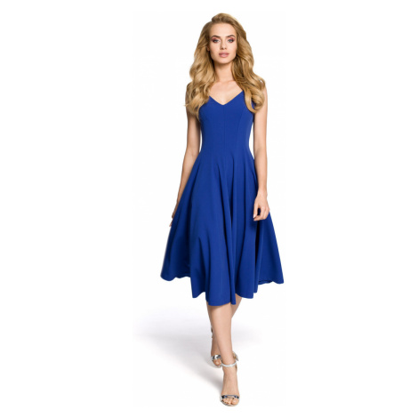 Made Of Emotion Woman's Dress M201 Royal