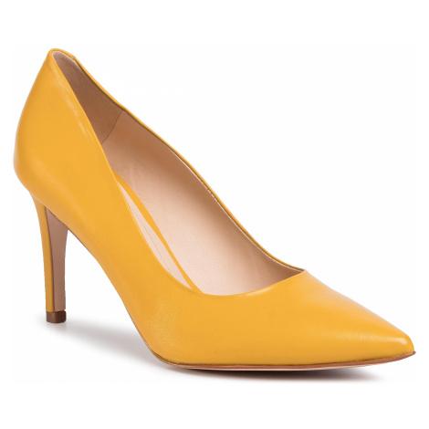Szpilki SOLO FEMME - 75403-88-G17/000-04-00 Żółty