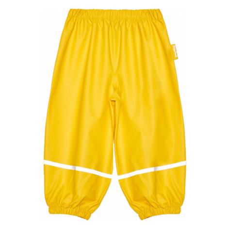 Playshoes Spodnie materiałowe 405421 D Żółty Regular Fit