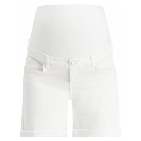 Esprit Maternity Spodnie biały