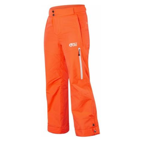 Picture MIST pomarańczowy 8 - Spodnie narciarskie dziecięce