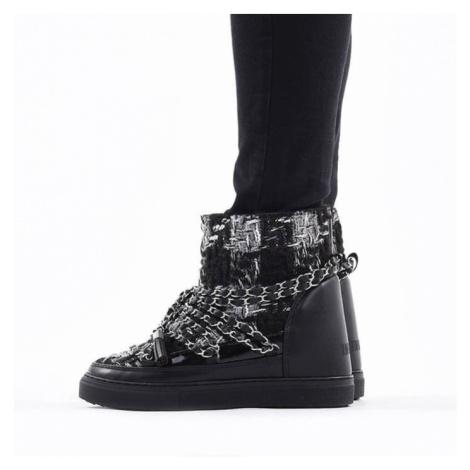 Buty damskie Inuikii Sneaker English Tarta Wedge 70203-53 BLACK