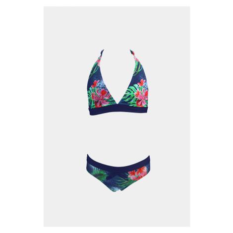 Dwuczęściowy dziewczęcy kostium kąpielowy Tropico