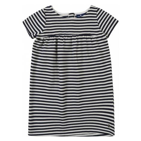 TOM TAILOR Sukienka ciemny niebieski / biały