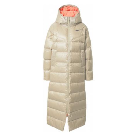 Nike Sportswear Płaszcz zimowy beżowy