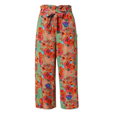 Marc O'Polo DENIM Spodnie pomarańczowy / mieszane kolory / zielony / czerwony