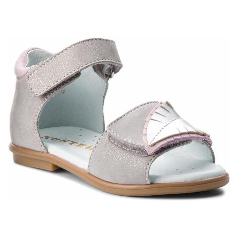 Sandały MIDO - 31-07 Szary/Brokat