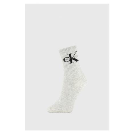 Damskie skarpetki Calvin Klein Bowery jasnoszare